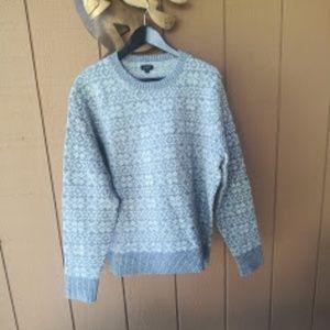J Crew Fair Isle pullover NEW